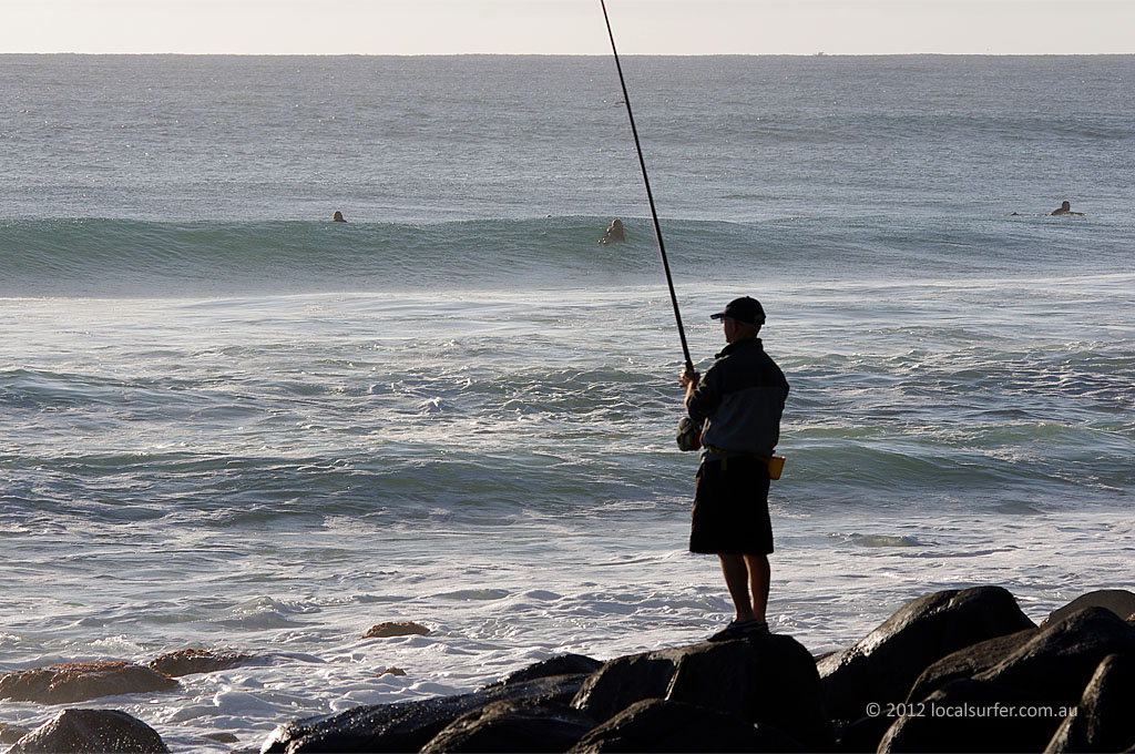 Fishing the point