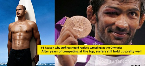 The number 3 reason why surfing should replace wrestling at the Olympics