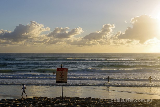 6:39am - Big drops may be missing on the waves but be careful and watch out for the ones on sand