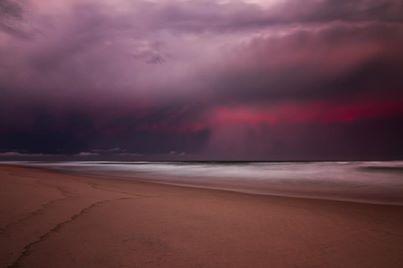 Storm at Sea - Grant Davis Photography