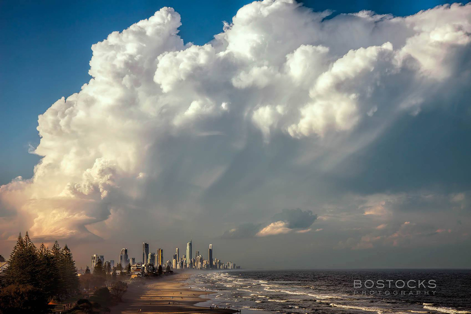 Another storm looming on the Gold Coast - Image by Bostocks Photography