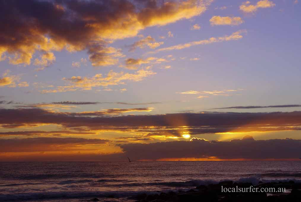 6:49 am - Burleigh Heads - Rays