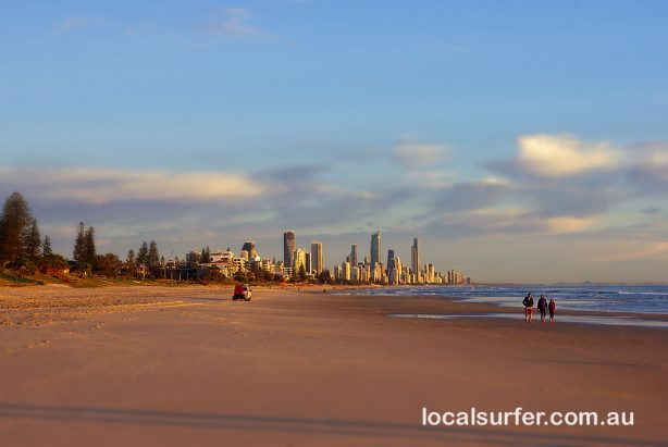 Nth to Surfers Paradise, looking quiet up that-a-way