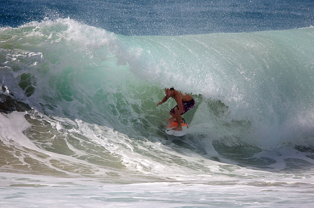 Awesome tube time at Duranbah