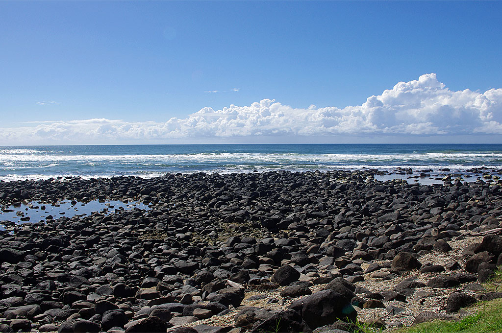 Low tide at Burleigh