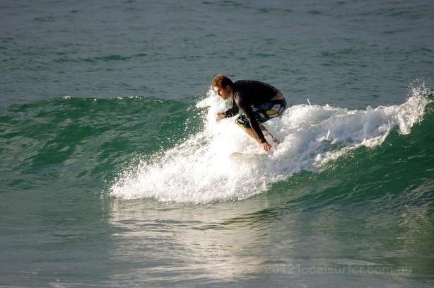 A little small but surfable