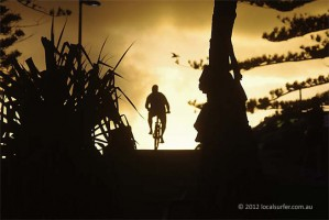 cyclist-silhouette