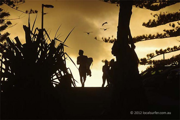 An old fav - Silhouette at Burleigh