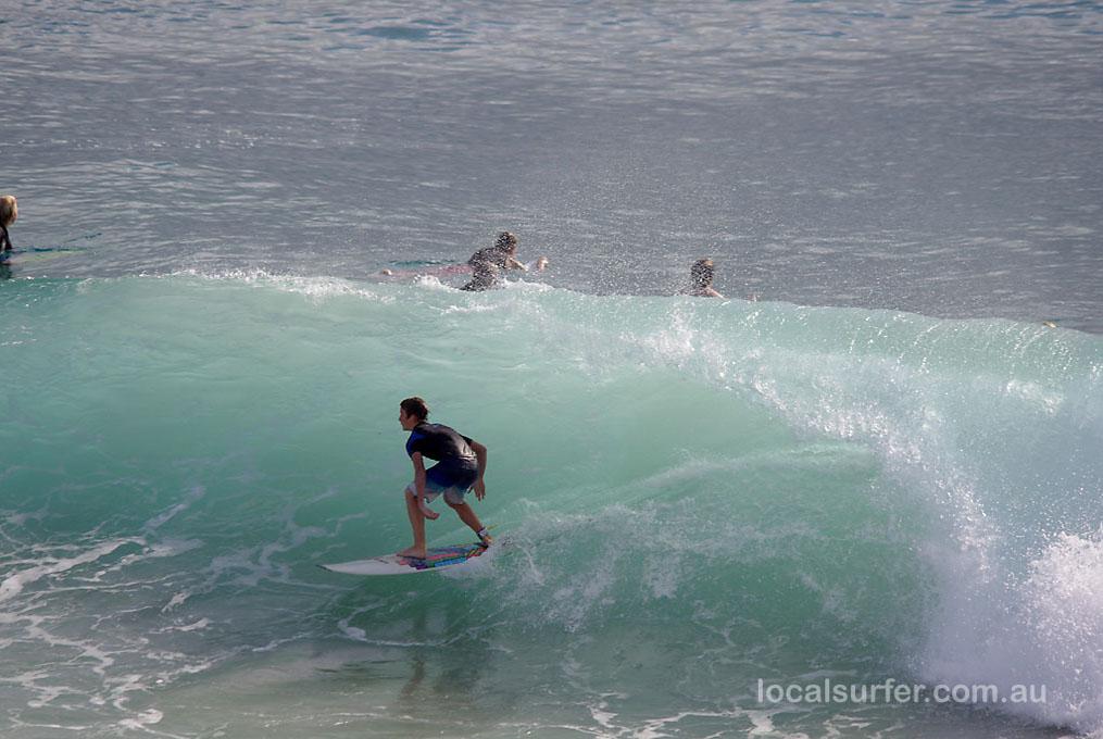 Nice Burleigh wave