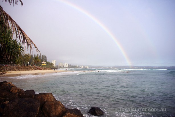 Rainbow at Rainbow Bay
