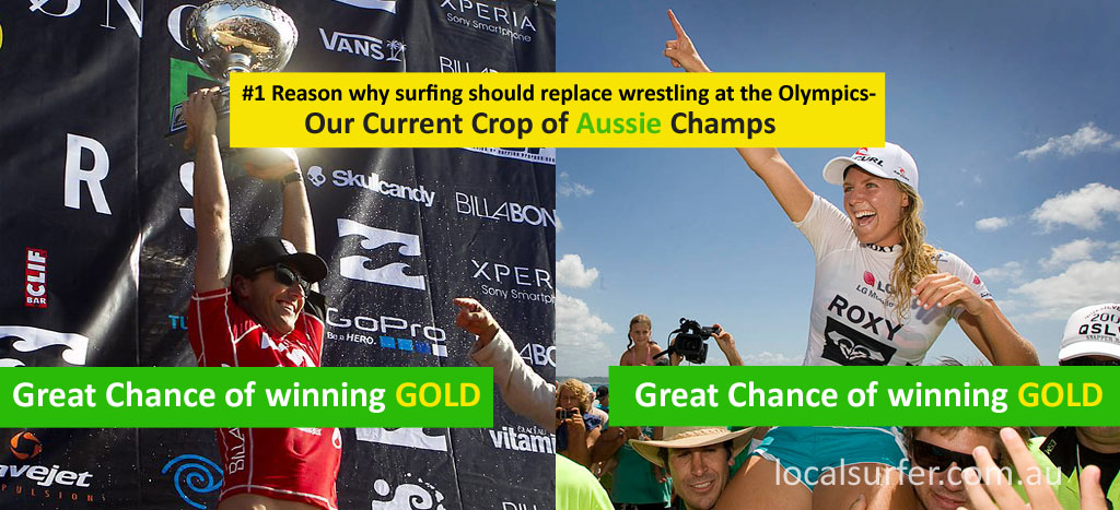 The number 1 reason why surfing should replace wrestling at the Olympics