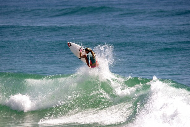 aerial 1 - taken at Burleigh just before the breaka pro