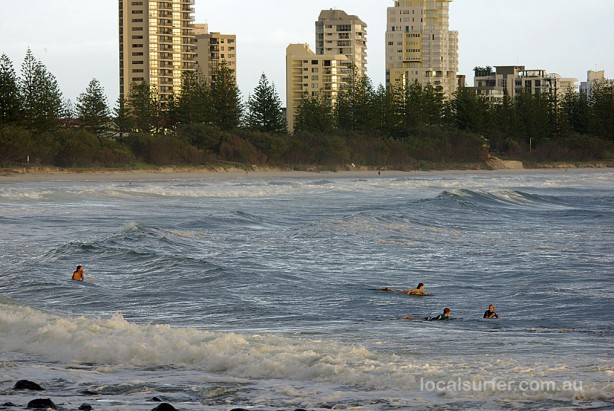 6:17am - a small number starting to head out for a paddle