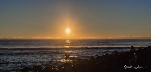 Christina Jeannin captured what was another beautiful Burleigh Morning