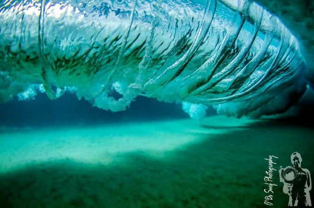 Magic shot from beneath - O'Ds Surf Photography